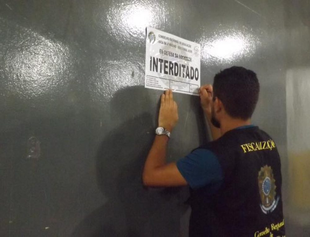Fiscalização flagra falsos Profissionais de Educação Física atuando ilegalmente em academias de Rio Branco (AC)