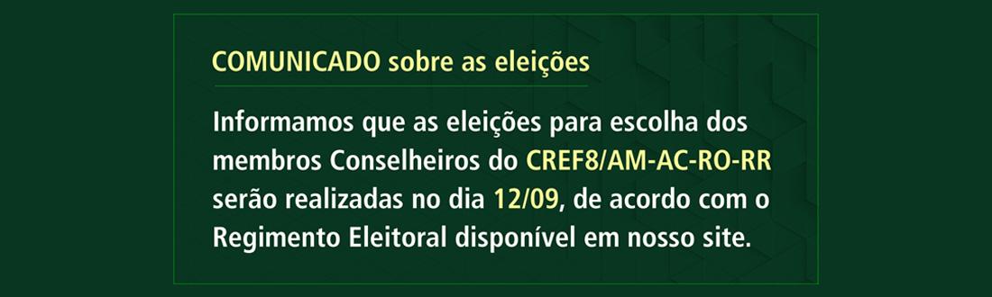 Comunicado CREF8